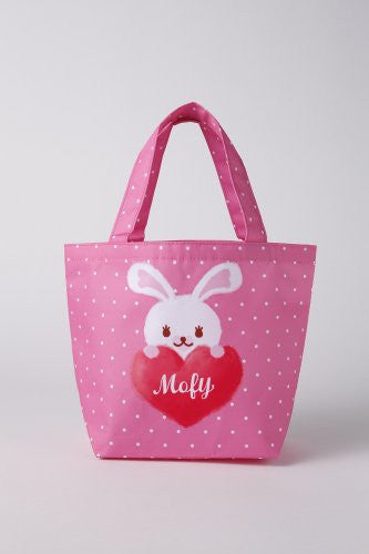 Image 2 for Usagi No Mofy Japanese Character Book W/Lunch Tote Bag