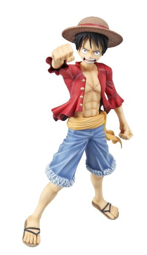 "Image 4 for One Piece - Monkey D. Luffy - Portrait Of Pirates ""Sailing Again"" - Excellent Model - 1/8 - Timeskip (MegaHouse)"