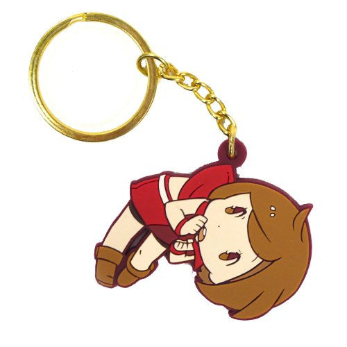 Image 1 for Vocaloid - Meiko - Tsumamare - Rubber Keychain - Keyholder (Cospa)
