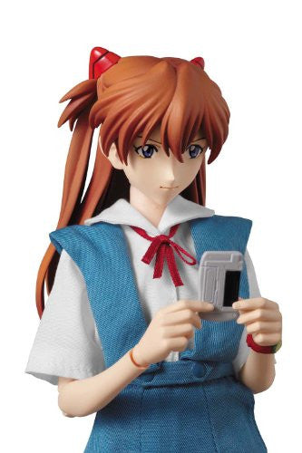Image 5 for Shin Seiki Evangelion - Souryuu Asuka Langley - Real Action Heroes #502 - 1/6 - Uniform Version (Medicom Toy)