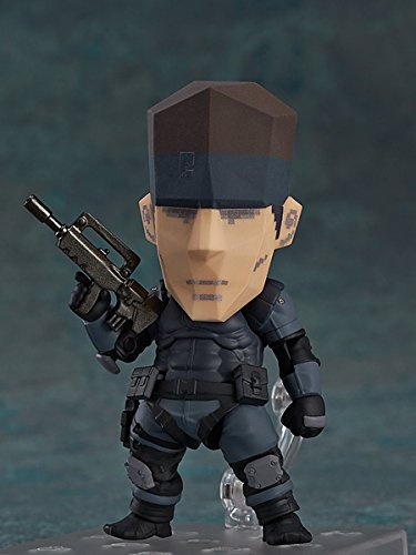 Image 8 for Metal Gear Solid - Solid Snake - Nendoroid #447 (Good Smile Company)