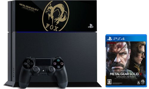 Image 2 for PlayStation 4 x METAL GEAR SOLID V: GROUND ZEROS FOX EDITION
