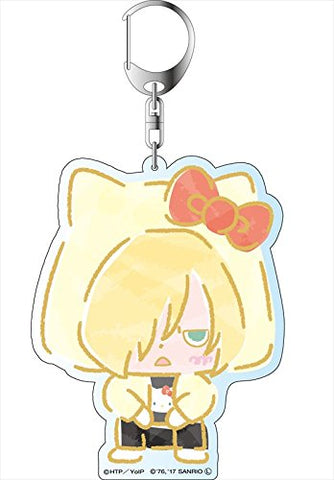 Yuri!!! on Ice x Sanrio Characters - Deka Key Chain - Stamp Rally Ver. - Yuri Plisetsky