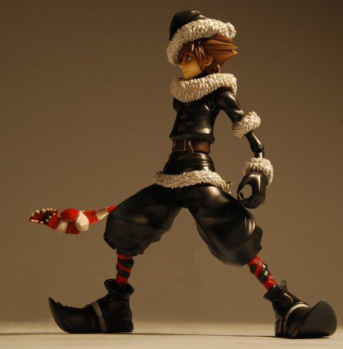 Image 3 for Kingdom Hearts II Final Mix - Sora - Play Arts - Kingdom Hearts II Play Arts - no.5 - Christmas Town (Kotobukiya, Square Enix)