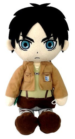 Image for Shingeki no Kyojin - Eren Yeager - Kuttari Cushion - S (Bandai)