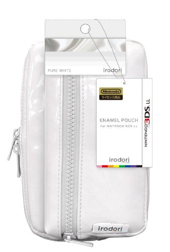 Image 2 for Enamel Pouch for 3DS LL (Pure White)