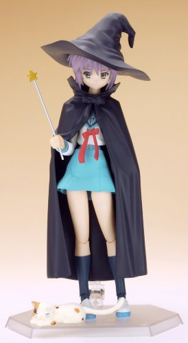 Image 7 for Suzumiya Haruhi no Yuuutsu - Nagato Yuki - Figma #015 - Evil Witch, School Uniform (Max Factory)