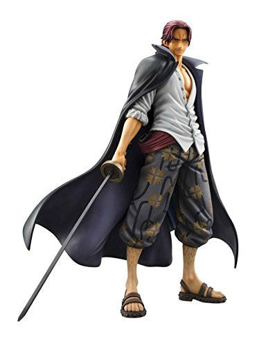 Image 1 for One Piece - Red-Haired Shanks - Excellent Model - Portrait Of Pirates DX - 1/8 (MegaHouse)