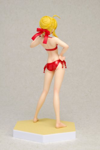 Image 3 for Fate/EXTRA - Saber EXTRA - Beach Queens - 1/10 - Red Edition, Swimsuit ver. (Wave)
