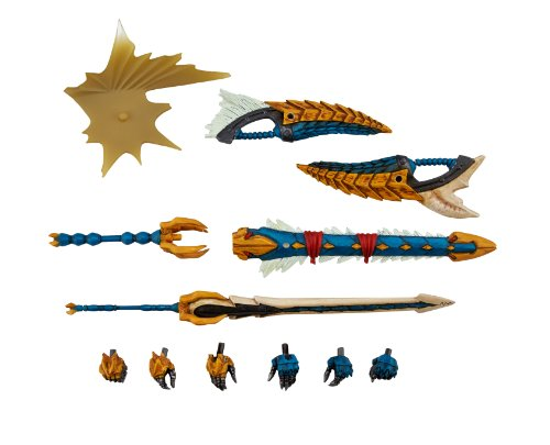 Image 8 for Monster Hunter - Hunter - Revoltech #133 - Jinouga Series (Kaiyodo)