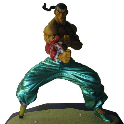 Image 2 for Grappler Baki - Retsu Kaioh - Real Detail Figure - Limited Edition (Spider Web)
