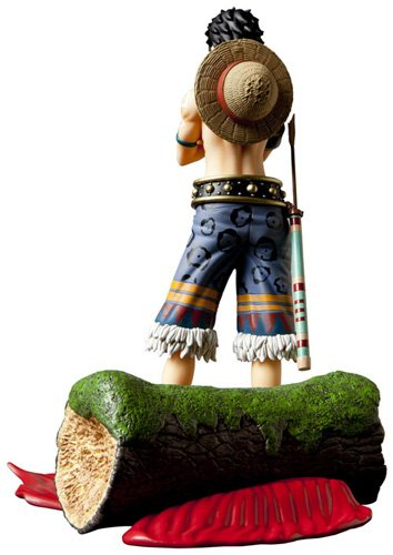 Image 7 for One Piece - Monkey D. Luffy - Door Painting Collection Figure - 1/7 - Animal ver. (Plex)