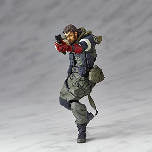 Image 1 for Metal Gear Solid V: The Phantom Pain - Naked Snake - Revolmini - Revoltech - Olive Drab Field Operation Uniform Ver., Venom ver. (Kaiyodo)