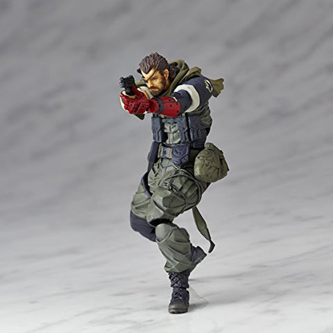 Image for Metal Gear Solid V: The Phantom Pain - Naked Snake - Revolmini - Revoltech - Olive Drab Field Operation Uniform Ver., Venom ver. (Kaiyodo)