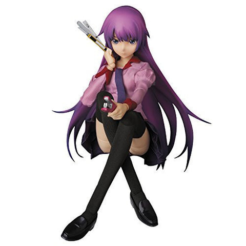 Image for Bakemonogatari - Senjougahara Hitagi - Real Action Heroes No.730 - 1/6 (Medicom Toy)