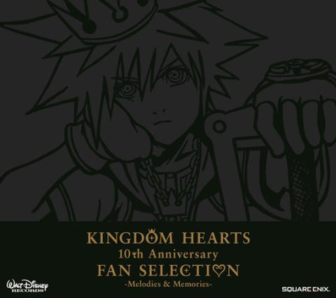 Image for KINGDOM HEARTS 10th Anniversary FAN SELECTION -Melodies & Memories-