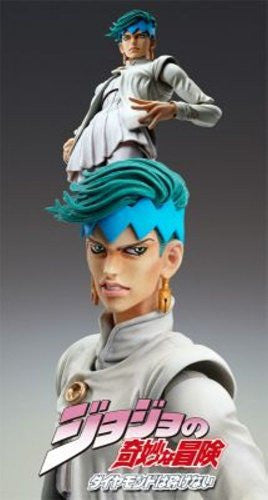 Image 2 for Jojo no Kimyou na Bouken - Diamond Is Not Crash - Kishibe Rohan - Super Action Statue #45 - Ver.2 (Medicos Entertainment)