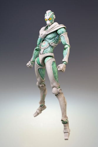 Image 2 for Jojo no Kimyou na Bouken - Stardust Crusaders - Hierophant Green - Super Action Statue #5 (Medicos Entertainment)