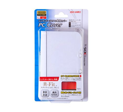 Image 1 for PC Cover for 3DS LL (Clear)