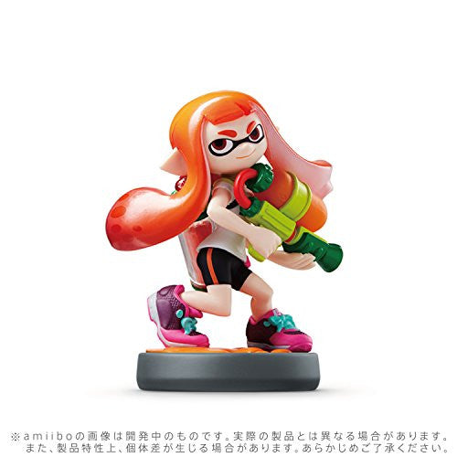 Image 2 for amiibo Splatoon Series Figure Triple Set (Girl / Ika / Boy)