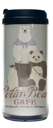 Image 1 for Shirokuma Cafe - Panda - Penguin - Shirokuma - Tumbler (Cospa)