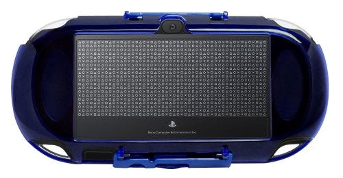 Image 2 for Protection Frame for PlayStation Vita (Clear Blue)