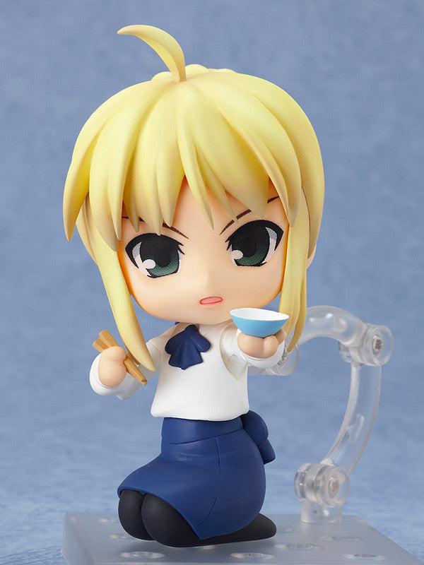 Image 2 for Fate/Stay Night - Saber - Nendoroid #225 - Full Action Plain Clothes Ver. (Good Smile Company, Hobby Japan)