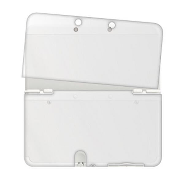Image 1 for Silicon Protector Case for NEW 3DS (Clear White)