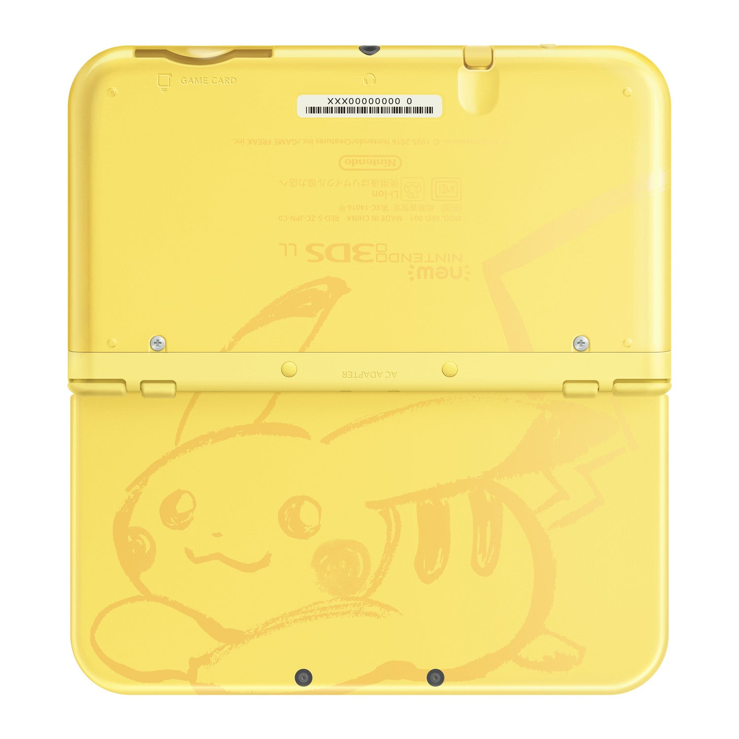 Image 1 for New Nintendo 3DS LL Pikachu Yellow