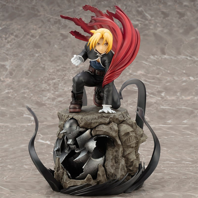 Image 1 for Hagane no Renkinjutsushi Brotherhood - Alphonse Elric - Edward Elric - ARTFX J - 1/8 - Limited Edition