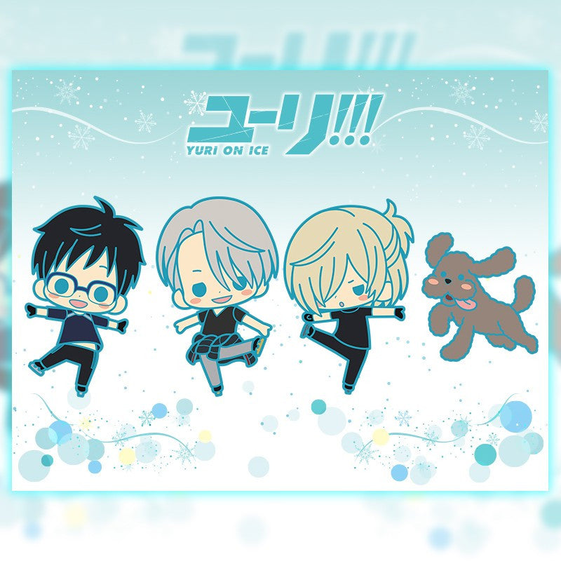 Image 1 for Yuri!!! on Ice - Rubber Strap Set