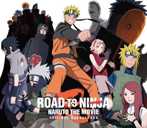 Image 1 for ROAD TO NINJA -NARUTO THE MOVIE- Original Soundtrack