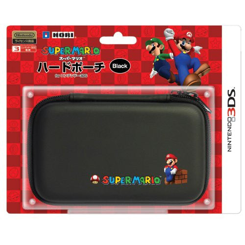 Image 1 for Super Mario Hard Pouch 3DS (Black)