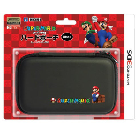 Image for Super Mario Hard Pouch 3DS (Black)