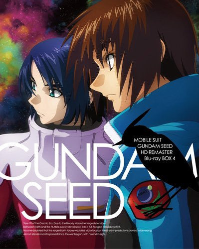 Image 1 for Mobile Suit Gundam Seed Hd Remaster Blu-ray Box 4 [Limited Edition]