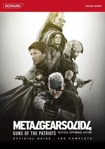 Image for Metal Gear Solid 4: Guns Of The Patriots Official Guide: The Complete