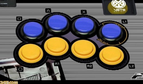 Image 5 for Mobile Suit Gundam Extreme VS. Full Boost Arcade Stick for PS3