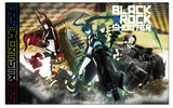 Black ★ Rock Shooter - Chariot - Dead Master - Black ★ Gold Saw - Strength - Tumbler (Cospa) - 3