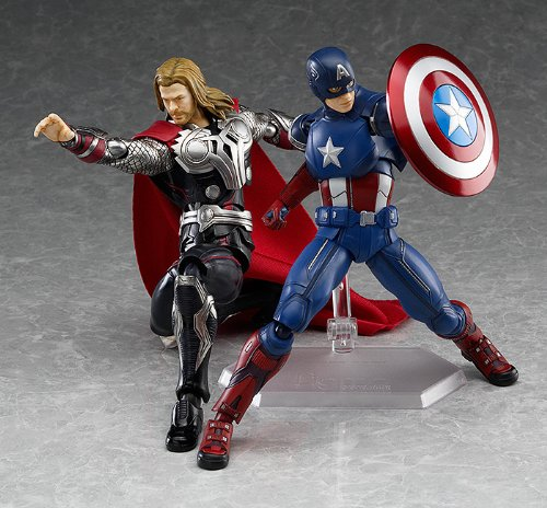 Image 7 for The Avengers - Captain America - Figma #226 (Max Factory)