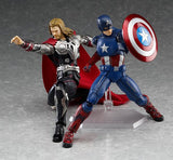 Thumbnail 7 for The Avengers - Captain America - Figma #226 (Max Factory)