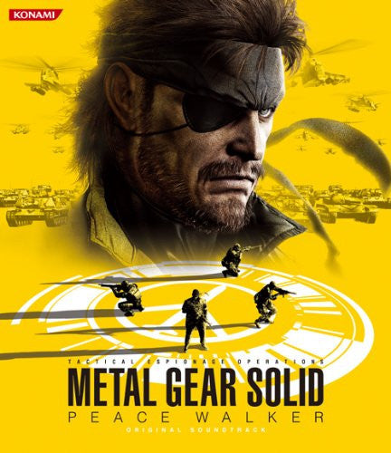 Image 1 for METAL GEAR SOLID PEACE WALKER ORIGINAL SOUNDTRACK
