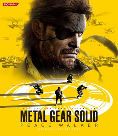 Image for METAL GEAR SOLID PEACE WALKER ORIGINAL SOUNDTRACK