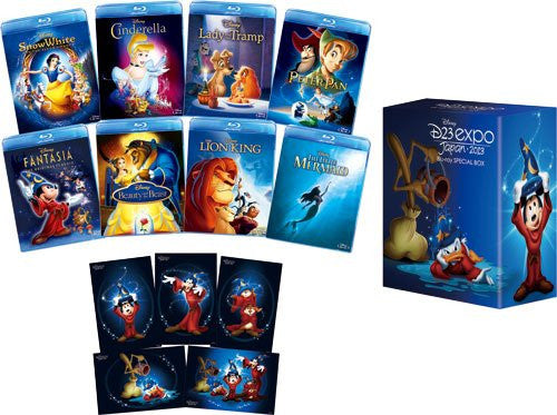 Image 1 for D23 Expo Japan Kaisai Kinen Disney Blu-ray Special Box [Limited Pressing]