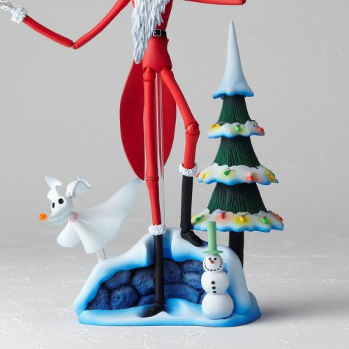 Image 9 for The Nightmare Before Christmas - Jack Skellington - Zero - Revoltech - Revoltech SFX #017 - Santa Ver. (Kaiyodo)