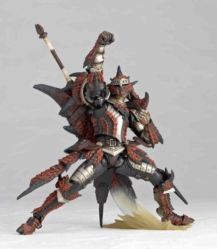 Image 3 for Monster Hunter - Hunter - Revoltech #123 (Kaiyodo, Union Creative International Ltd)