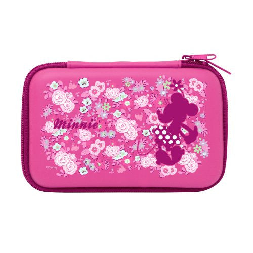 Image 1 for Disney Character Hard Pouch for 3DS LL (Minnie Version)