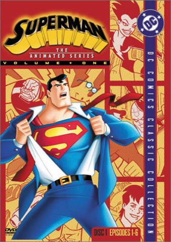 Image for Superman Animated Series Disc 1