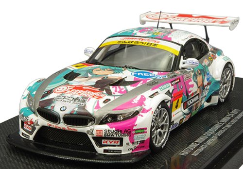 Image 1 for GOOD SMILE Racing - Vocaloid - Hatsune Miku - Itasha - BMW Z4 2011 - 1/43 - Racing 2011 Series : Champion Ver. (Good Smile Company)