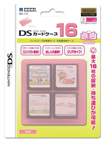 Image for DS Card Case 16 (Pink)