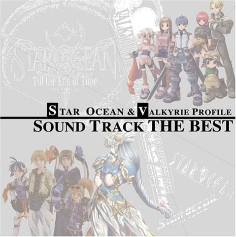 Image for Star Ocean & Valkyrie Profile Sound Track THE BEST